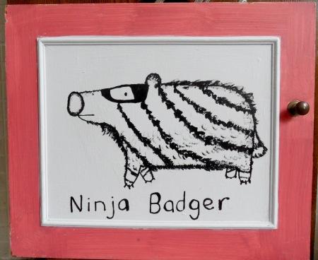 Ninja Badger