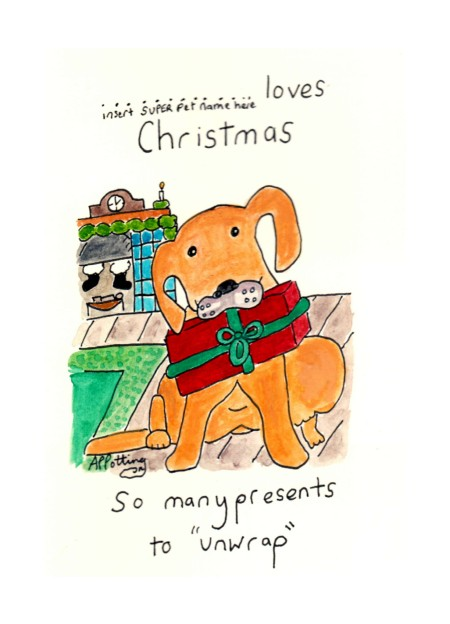 dogslovexmascard