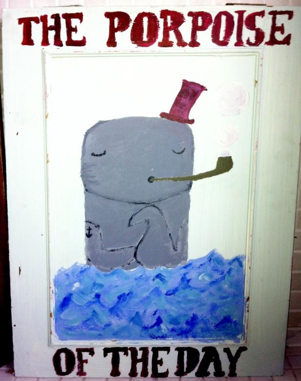 porpoise sign