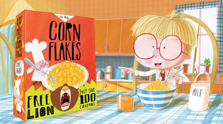 lion in my cornflakes