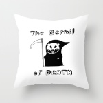 gerbil of death cushion