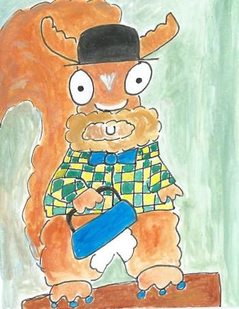 squirrelpostcard